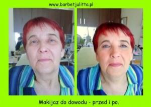 makijaż porównanie
